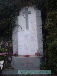 La stele commemorativa della squadra di calcio del Torino, scomparsa