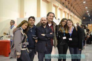 Tutti i blogger al completo: Sara e Alessandro di Girovagate, Armando Alibrandi di la Gazzetta di Pistoia, Lucia Parpaglioni di I Viaggi dei Mesupi e Elisa di Girandolina