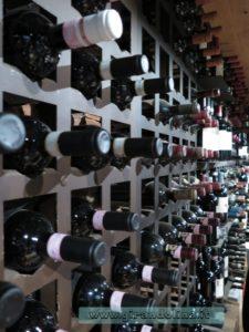 La cantina dei vini, della Locanda la Bussola Quarrata