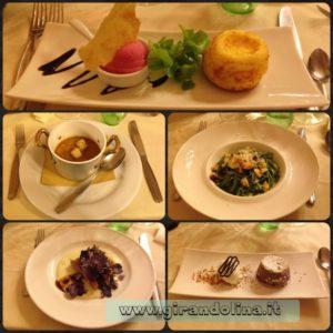 Tutti i piatti a noi proposti dal ristorante La Limonaia