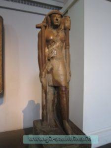 British Museum- Statua di uno schiavo egiziano