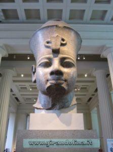 Testa del Colosso Amhenhotep III