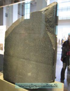 British Museum la Stele di Rosetta