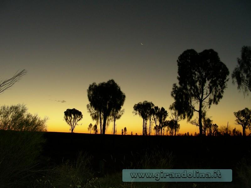 I tramonti australiani