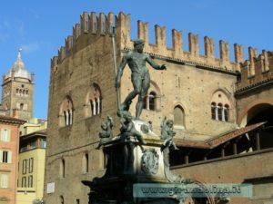 Bologna- Fontana del Nettuno
