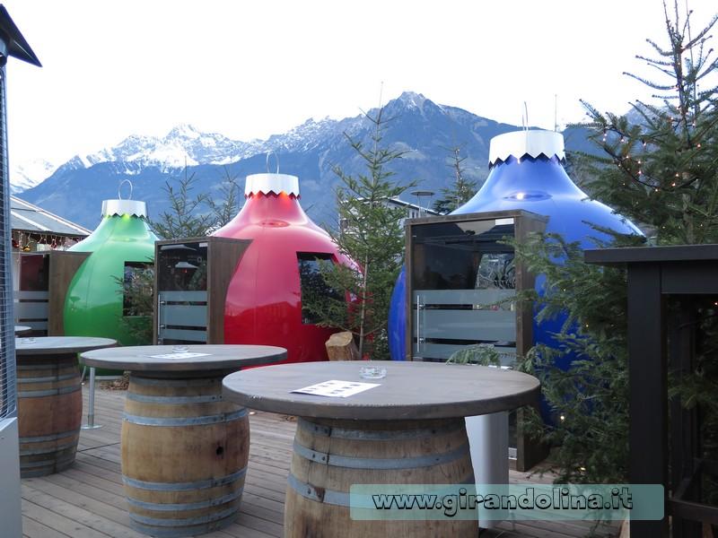 Le Palle di Natale/ ristoranti del Mercatino di Natale di Merano