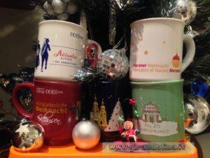 La collezione delle mie tazze dei Mercatini di Natale