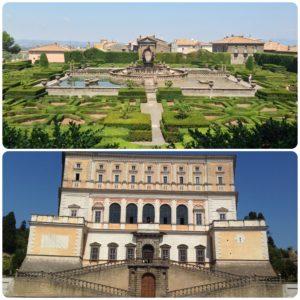 Villa Lante di Bagnaia e Palazzo Farnese di Caprarola