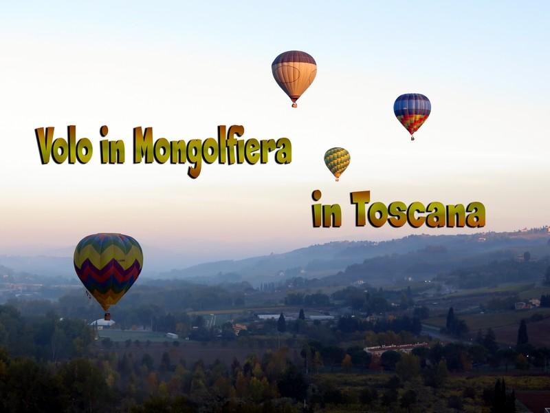 Video del nostro primo volo libero in Mongolfiera in Toscana