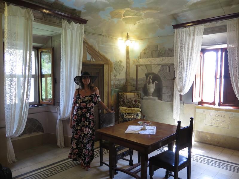 La camera del Palazzo Tombesi Trecci