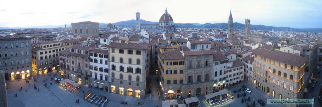 Panorama di Firenze dal Palazzo Vecchio