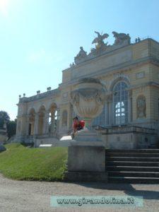 Foto parco del Castello di Schonbrunn, la Gloriette