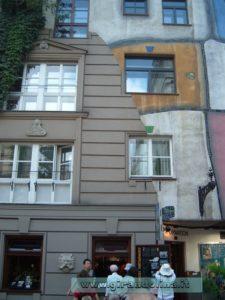 Il complesso abitativo di Hundertwasser Haus