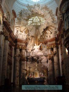 La Karlskirche interno