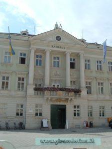 La città di Baden, il Rathaus