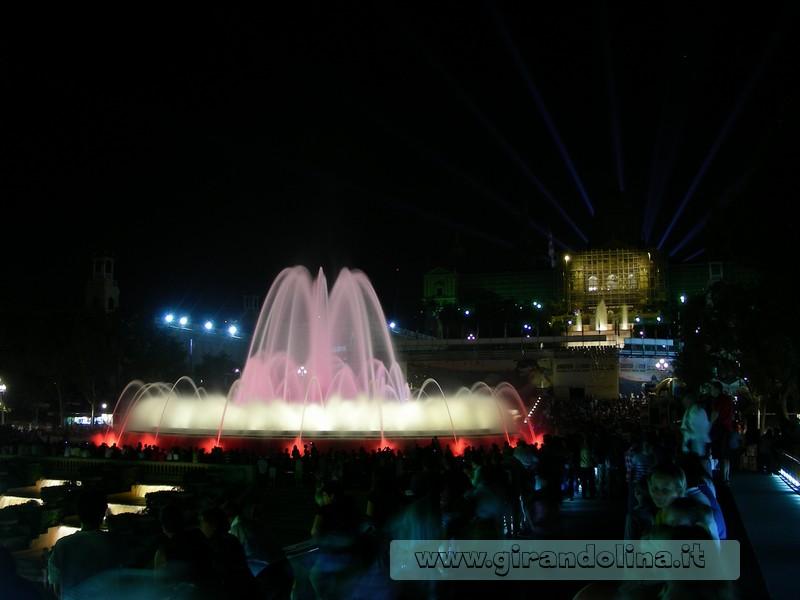 La Fontana Magica di Piazza Espanya