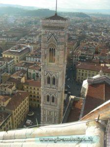 Campanile di Giotto, visto dal Duomo di Firenze