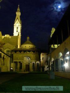 Chiesa di Santa Croce, Chiostro interno