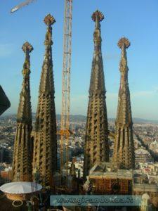La Sagrada Familia, in perenne costruzione ', opera di Gaudì