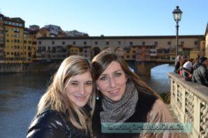 Ponte Vecchio con Nicole Pasini