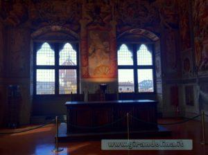 Sala dei Duecento, interno Palazzo Vecchio