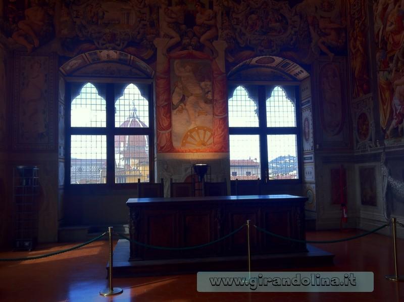 Sala dei Duecento, Palazzo Vecchio di Firenze