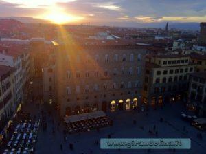 Piazza della Signoria, veduta dalla Torre degli Arnolfi