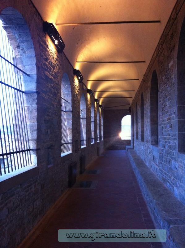 Il Camminamento di Ronda, alla Torre di Arnolfo di Firenze
