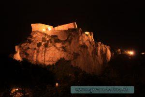 La Rocca di San Leo in notturna