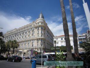 La Croisette, l' Hotel Carlton