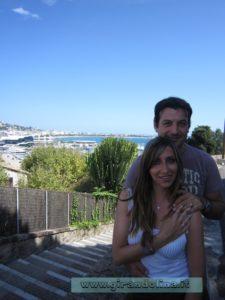 Piazza della Castre, panorama sulla Baia di Cannes