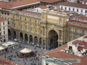 Piazza della Repubblica, vista dal Campanile di Giotto