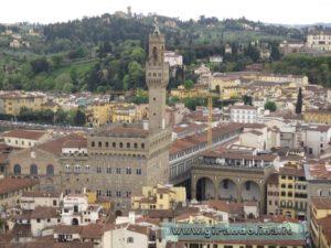 Palazzo Vecchio, visto dal Campanile di Giotto