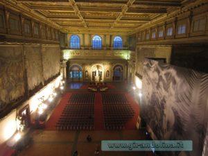 Sala dei Cinquecento , interno Palazzo Vecchio