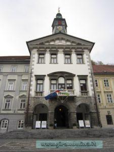 Il Municipio di Lubiana