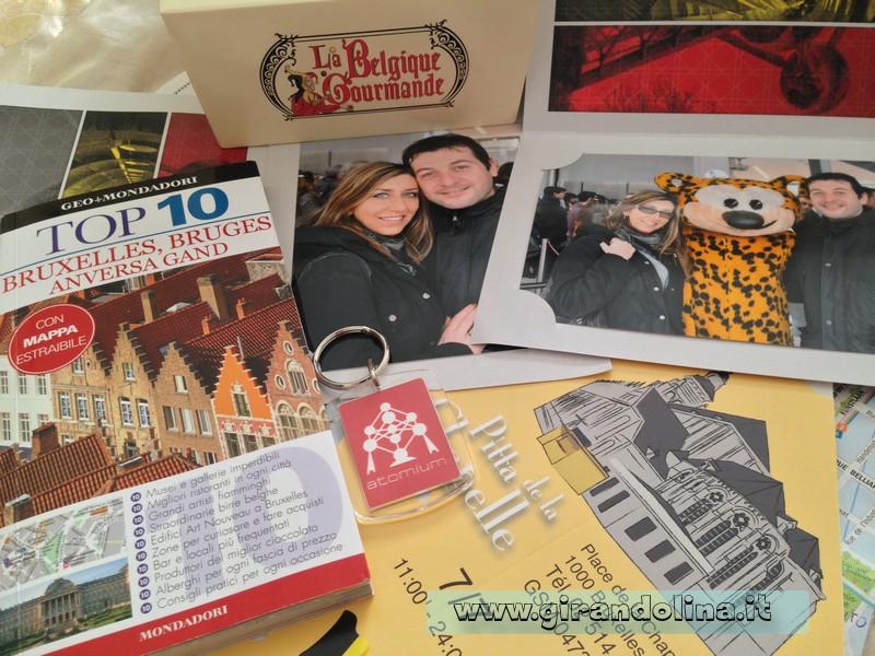 Souvenir da Bruxelles e Bruges