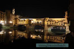 Ponte Vecchio in notturna