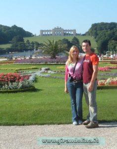 Foto parco del Castello di Schonbrunn