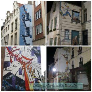 I Murales di fumetti