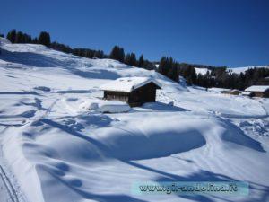 Le Dolomiti innevate