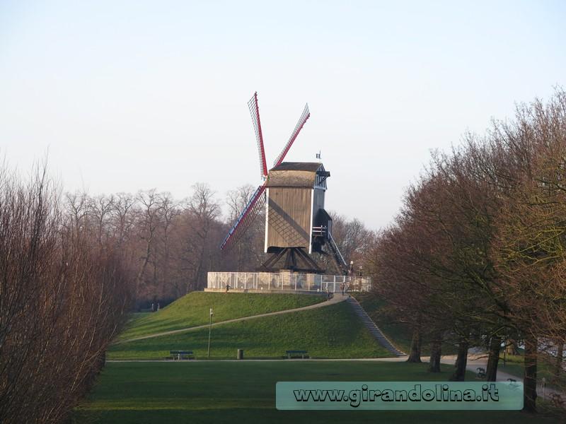 I mulini a vento di Bruges