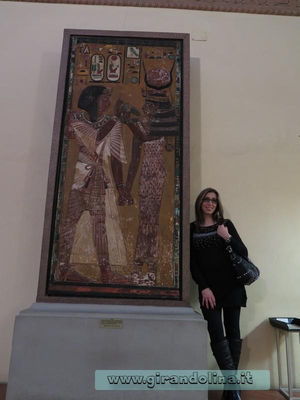 Il rilievo della Dea Maat, nella tomba di Sety I , Museo Archeologico Firenze