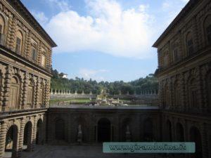 Cortile esterno Palazzo Pitti