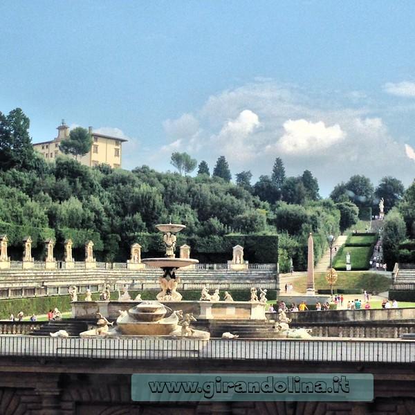 Firenze guida della citt palazzo pitti e i giardini di boboli girandolina - I giardini di palazzo rucellai a firenze ...
