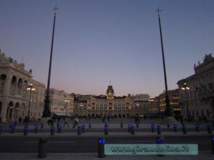 Piazza Unità d' Italia a Trieste