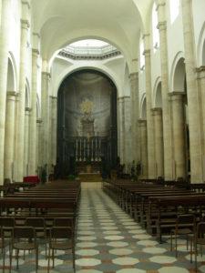 La navata del Duomo di Torino