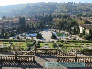 Il panorama dalle terrazze
