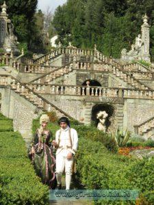 Figuranti presso lo Storico Giardino di Villa Garzoni