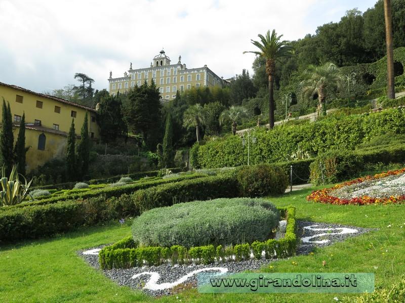 Visita allo storico giardino di villa garzoni for Giardini da visitare