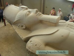 Colosso RamsesII Menfi Egitto